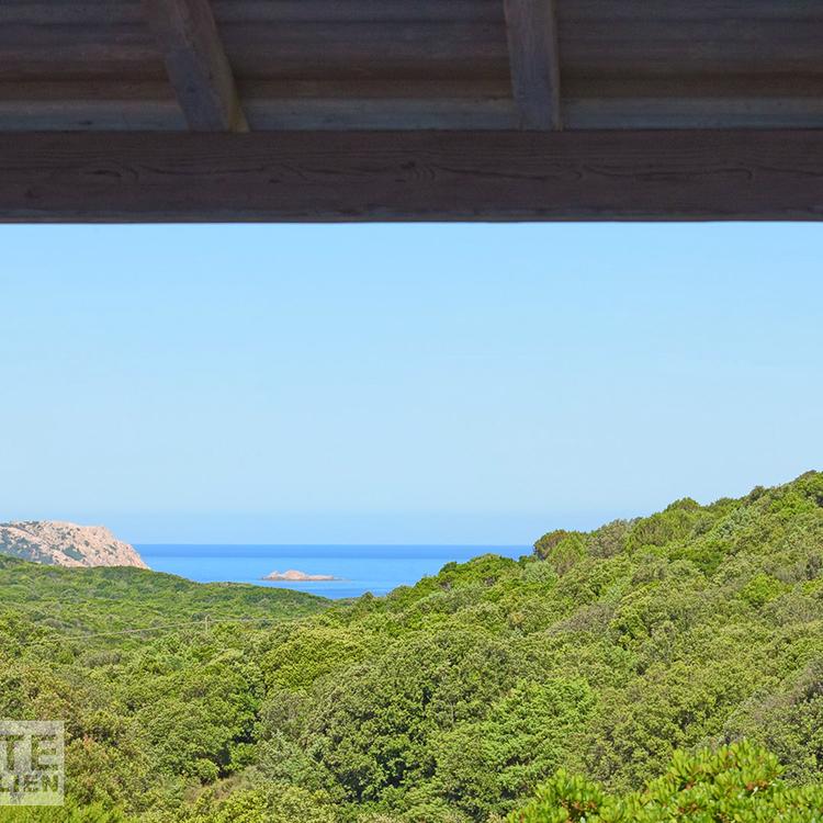 Ausblick von der Veranda