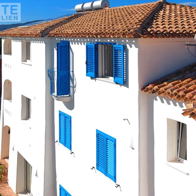 Square immobilien sardinien dach