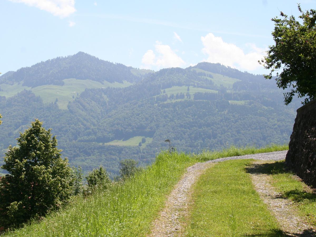 Panoramasicht in die Bergwelt