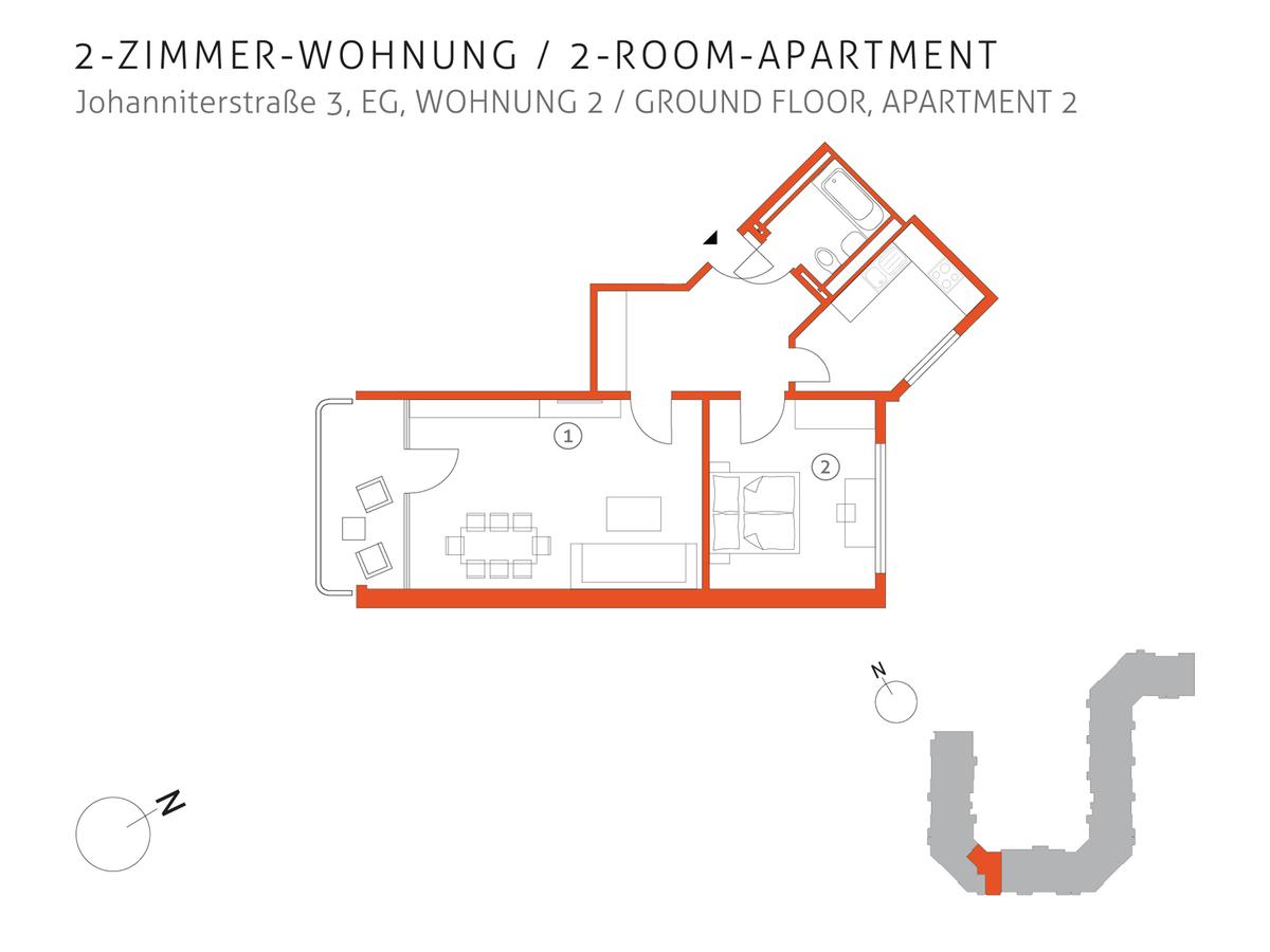 Grundriss 2   Johanniterstraße