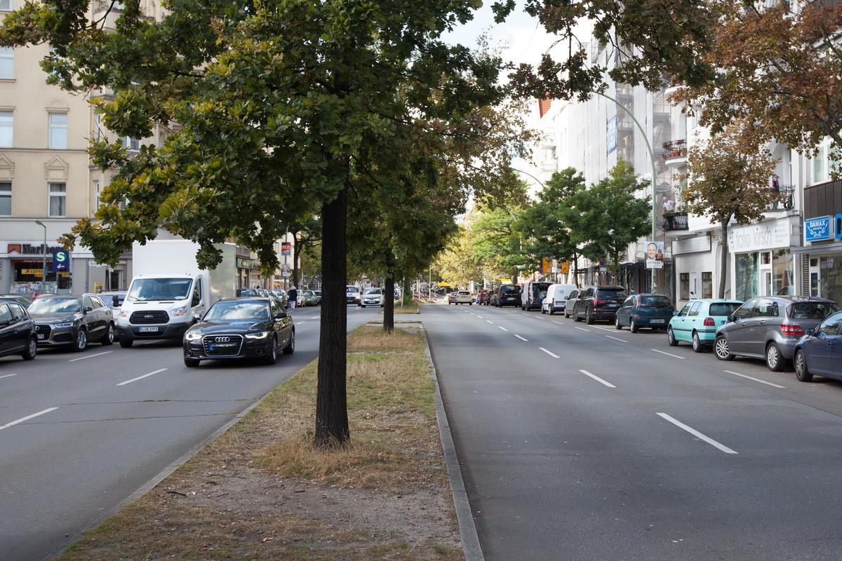 Straßenansicht   Wexstraße