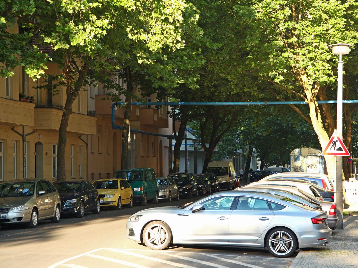 Viel Grün in der Zachertstraße | Zachertstraße