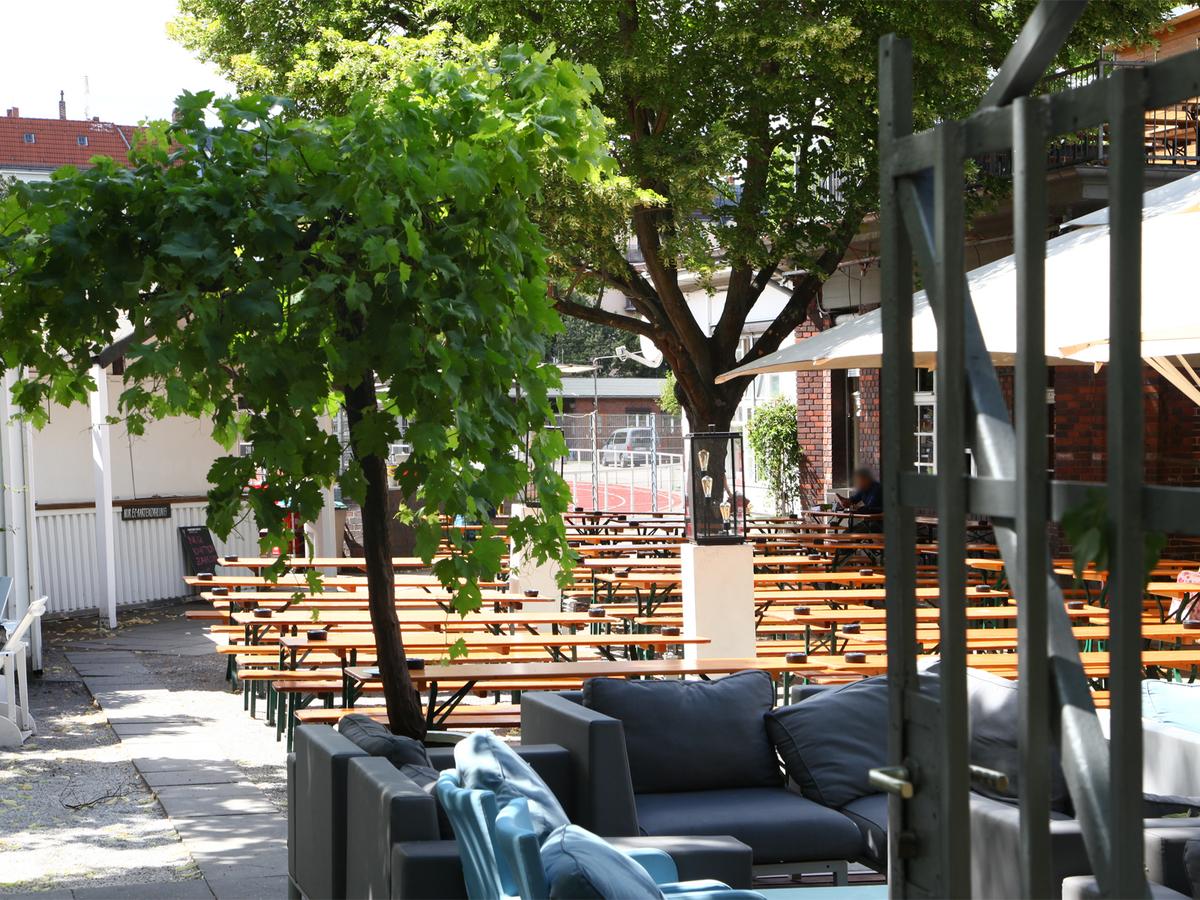 Golgatha Biergarten | Monumentenstraße