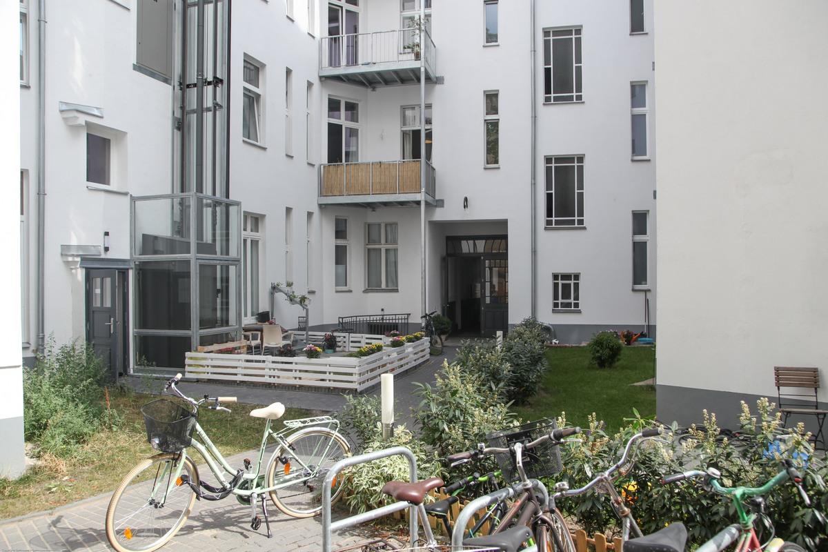Inner courtyard | Riehlstraße