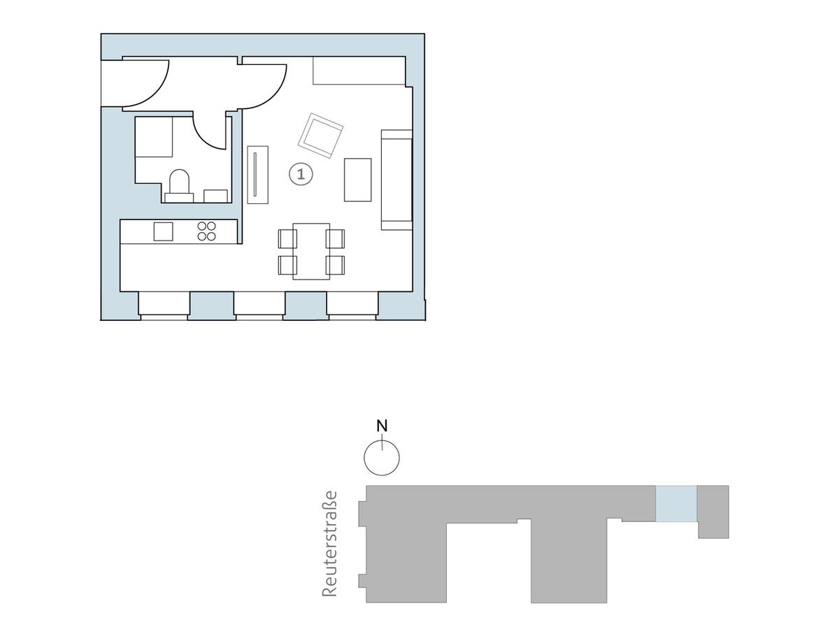 Floor plan unit 35 | Reuterstraße