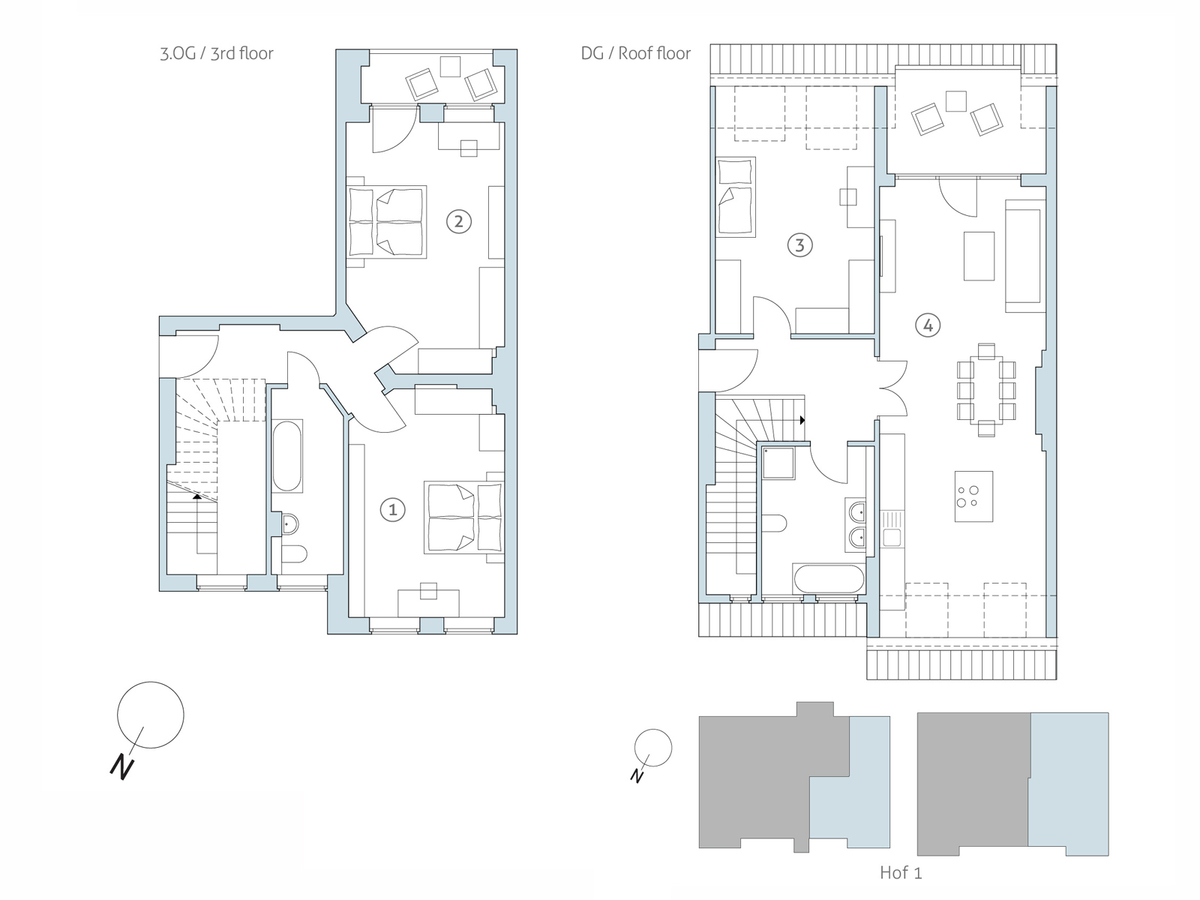 Floor plan unit 24 | Binzstraße