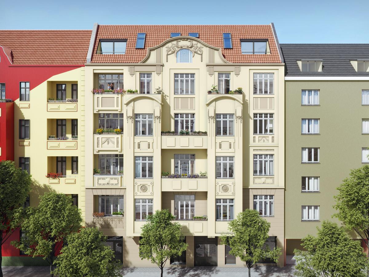 Hausansicht   Monumentenstraße