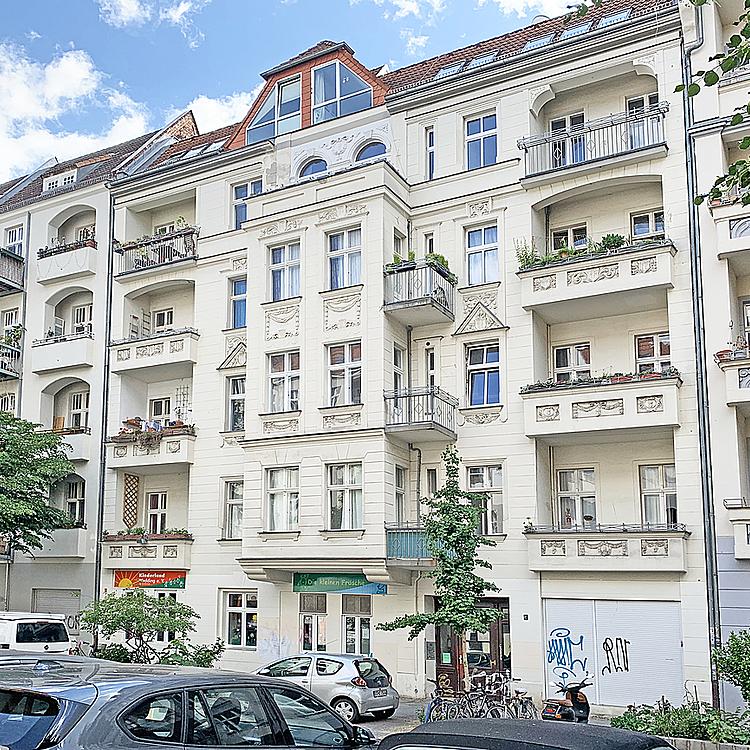 Berlin-Wedding: Bezugsfreie 1-Zimmerwohnung mit etwa 44m²