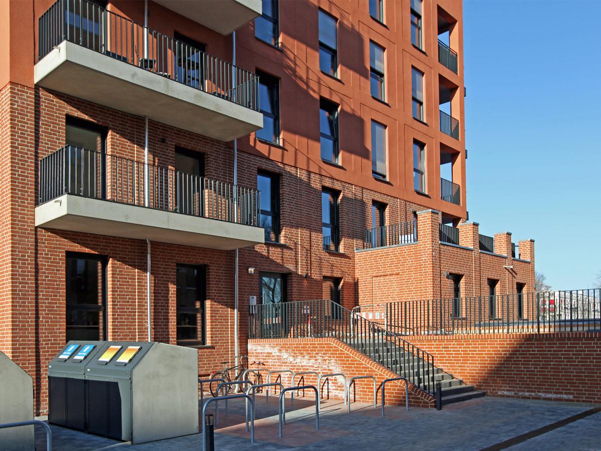 Entrance area | Ottomar-Geschke-Straße