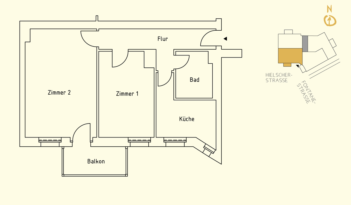 Floor plan unit 05 | Hielscher Straße