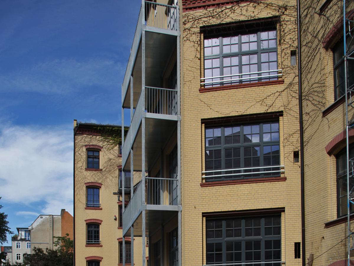 Fassade | Schulzendorfer Straße