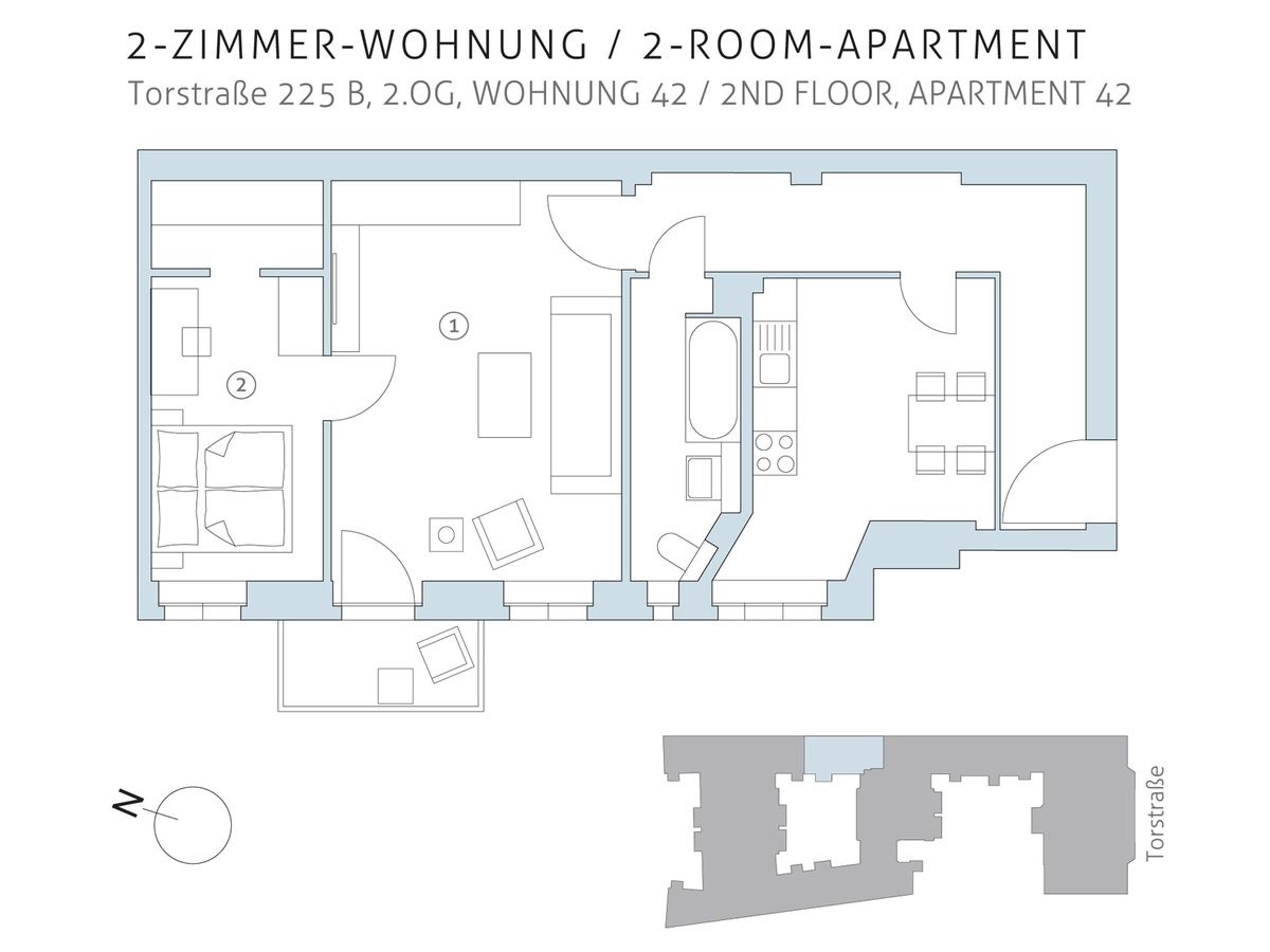 Floor plan unit 42 | Torstraße