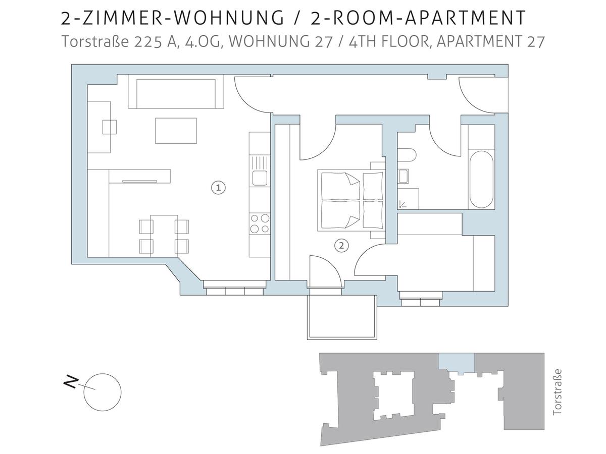 Floor plan unit 27 | Torstraße