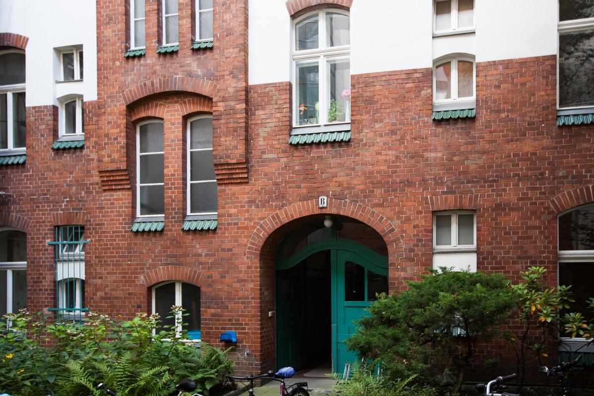 Hinterhaus   Wexstraße