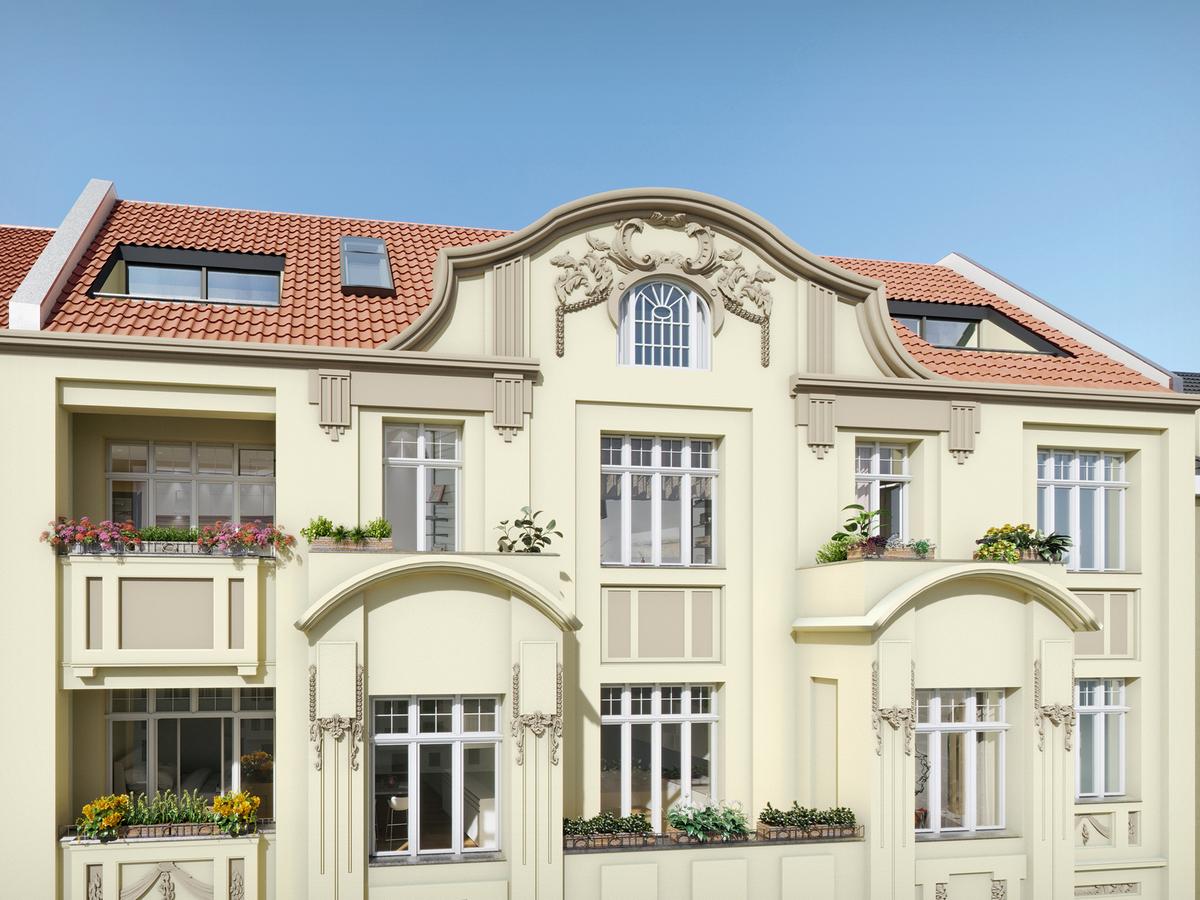 Fassade | Monumentenstraße