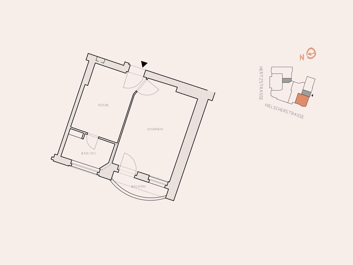 Floor plan unit 16 | Hertzstraße