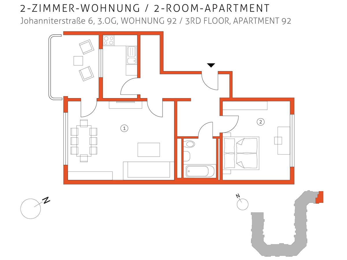 Grundriss 92 | Johanniterstraße