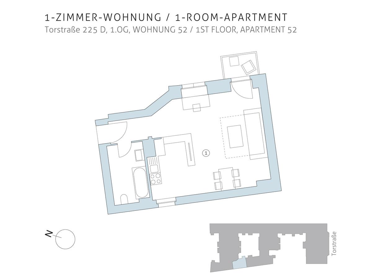 Floor plan unit 52 | Torstraße