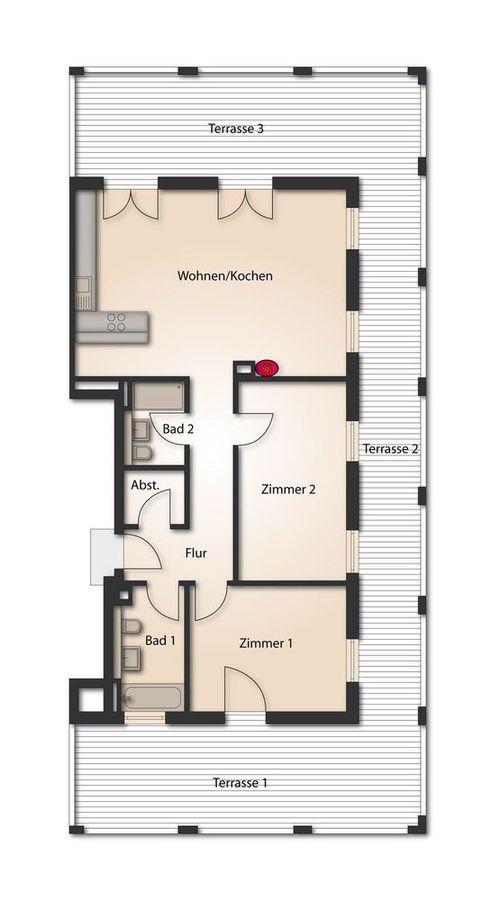 Floor plan | Ottomar-Geschke-Straße