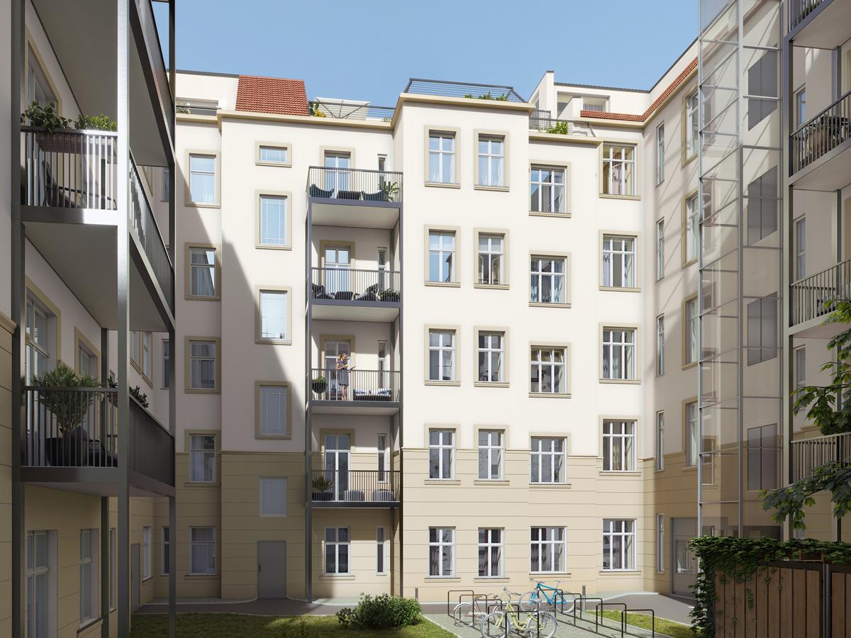 Innenhof   Monumentenstraße