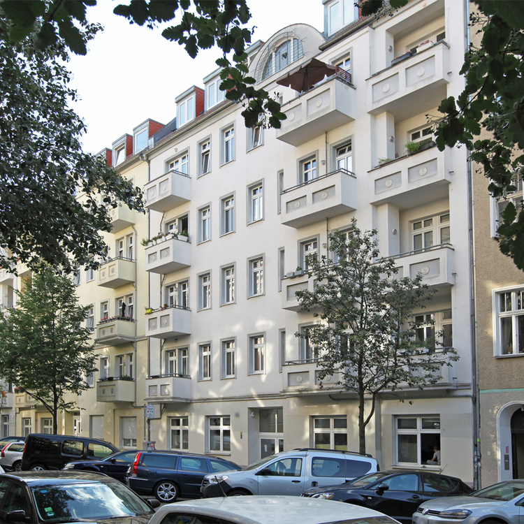 Rented 2-room apartment with balcony in Simon-Dach-Quarter