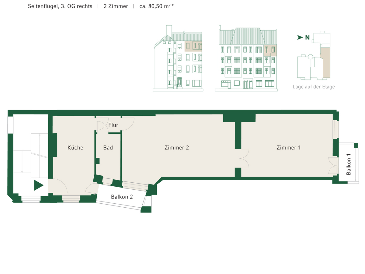 Floorplan WE 13 | Johannisberger Straße