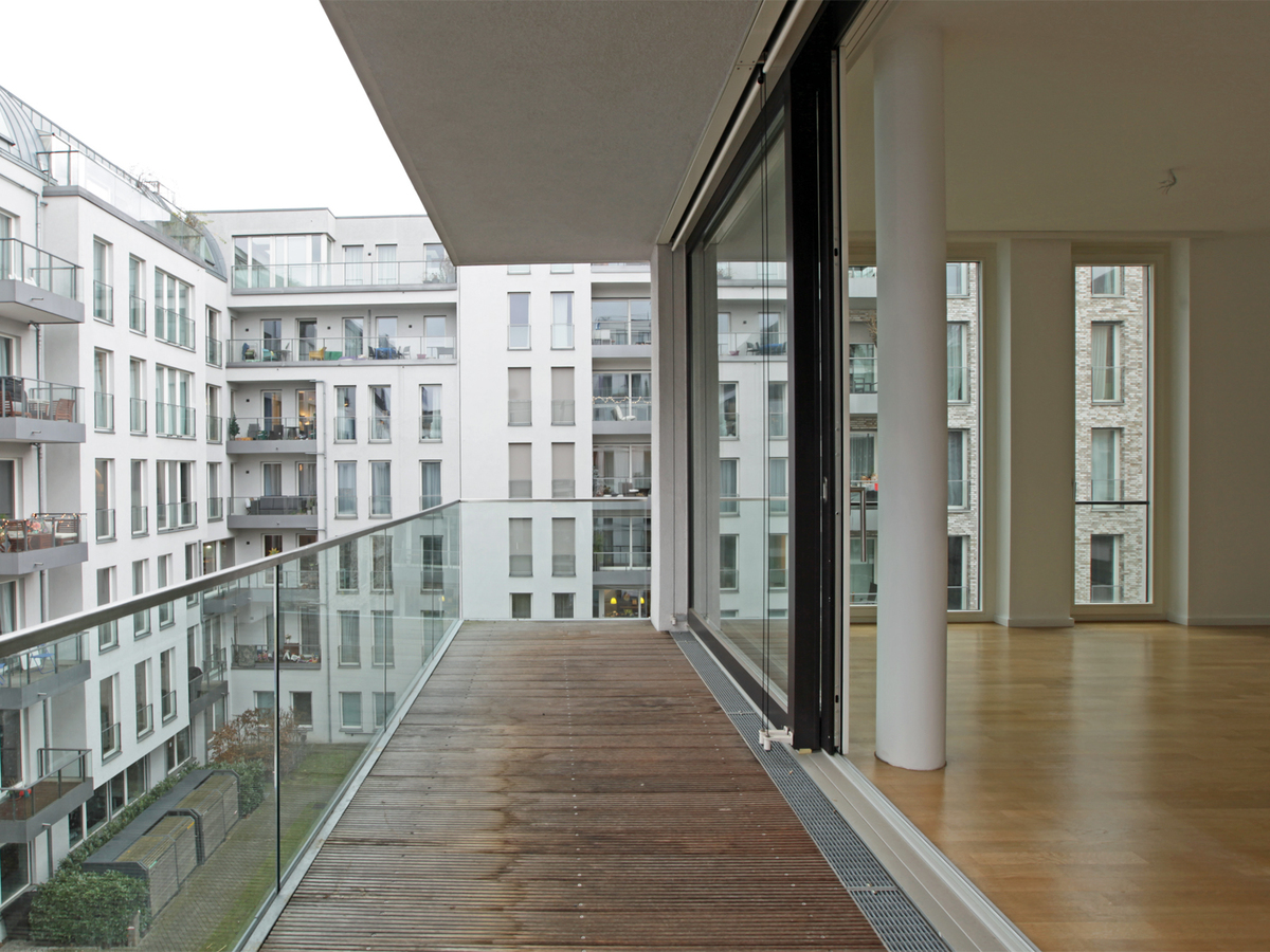 Balcony southwest orientation | Zehdenicker Straße