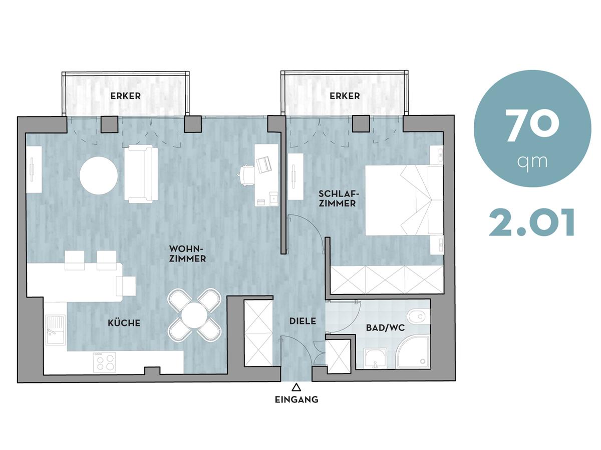 Floor plan 201 | Dorotheenstraße