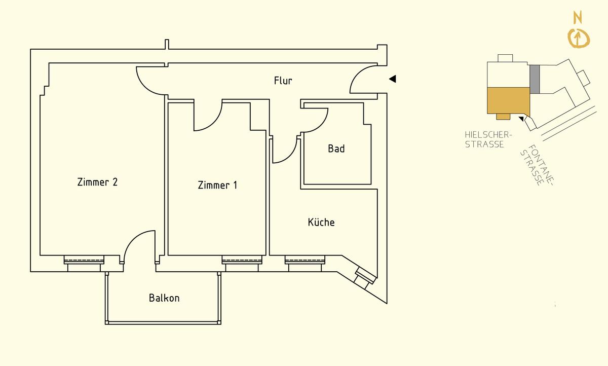 Floor plan unit 09 | Hielscher Straße