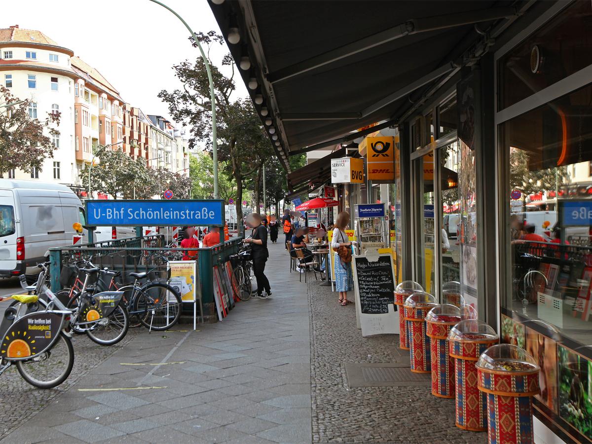 Train station Schoenleinstrasse | Schönleinstraße