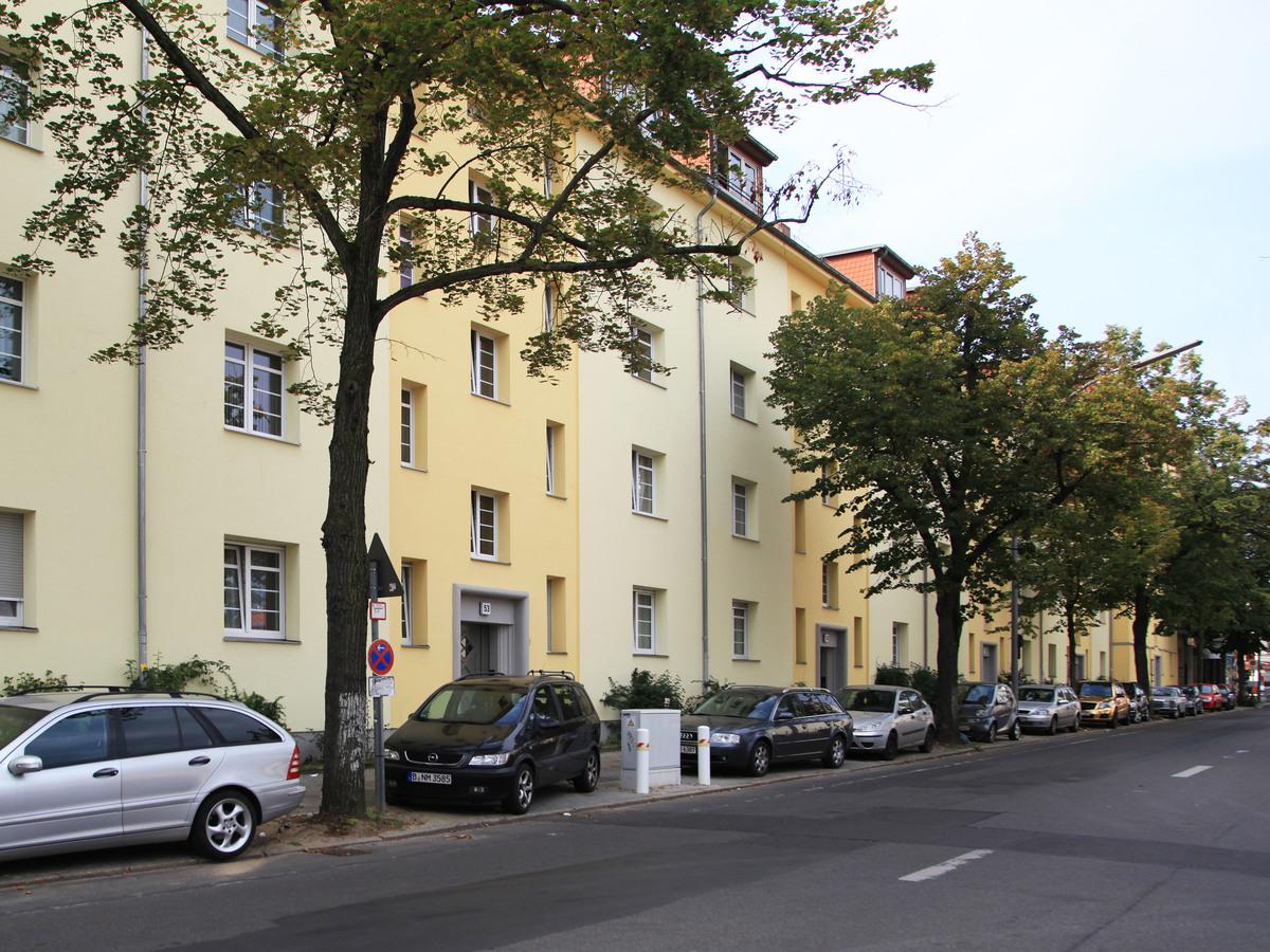 Gepflegte Anlage Neukölln | Silbersteinstraße