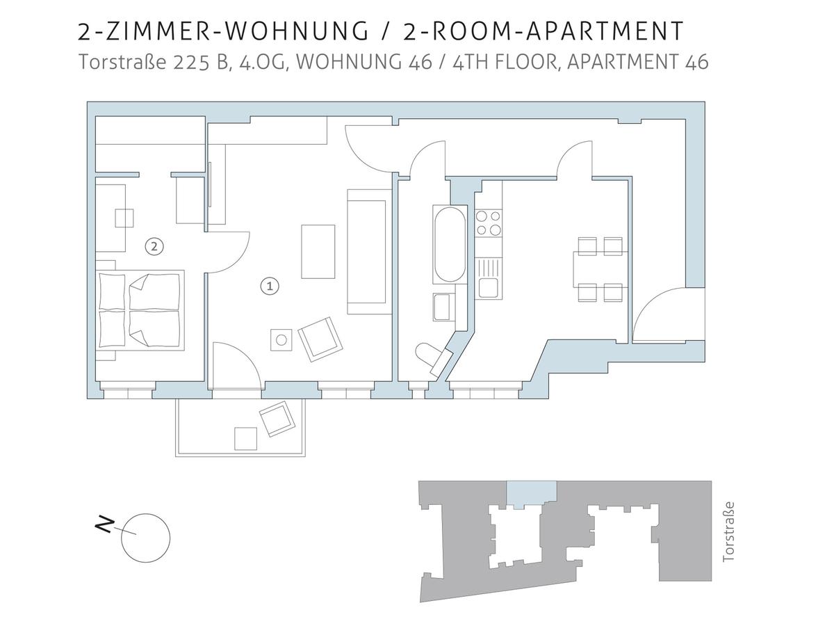 Floor plan unit 46 | Torstraße