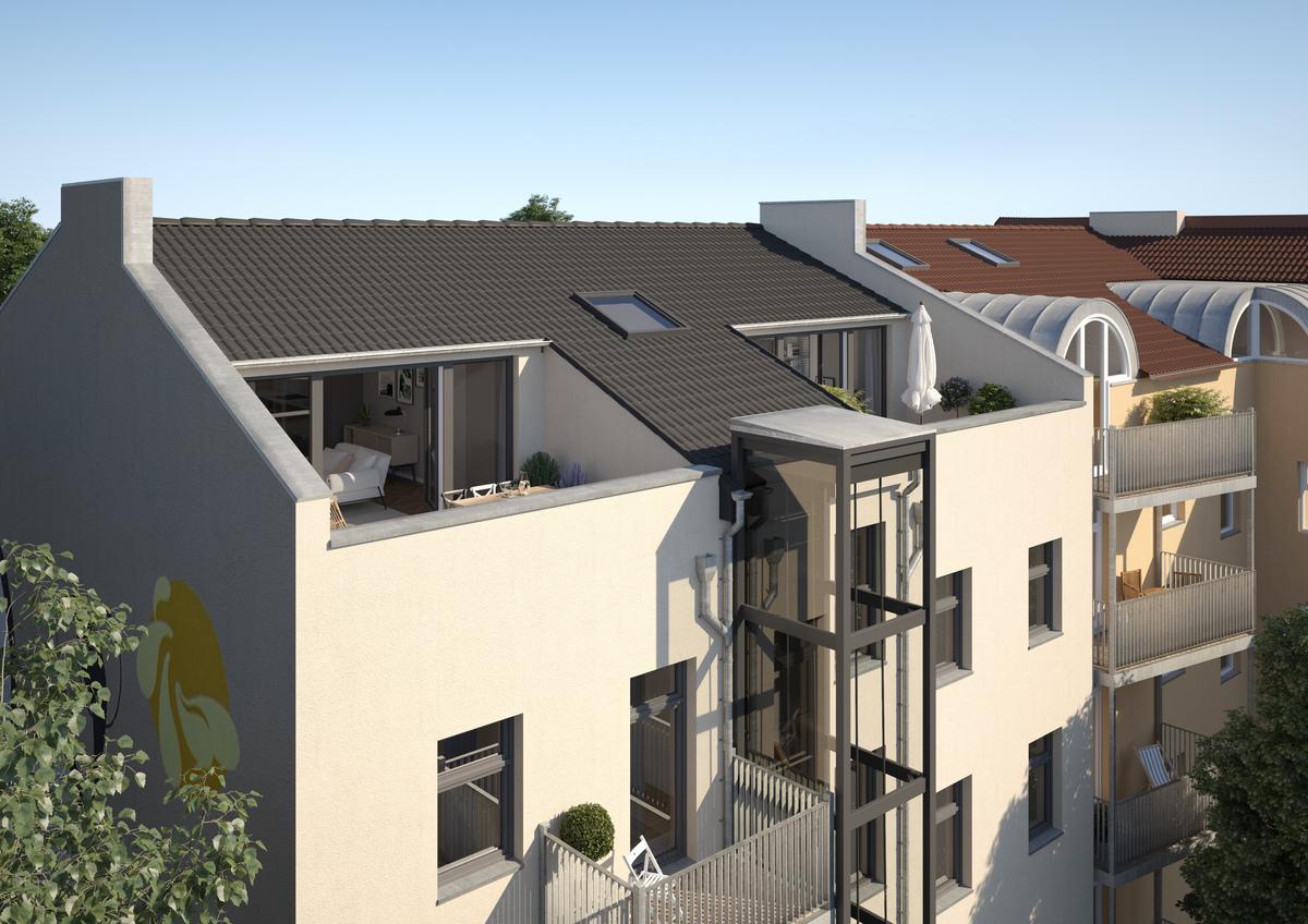 Attic apartment   Wrangelstraße