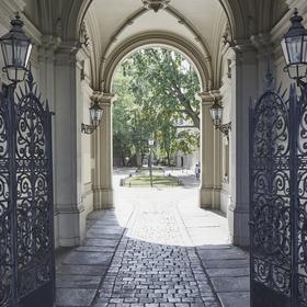 Riehmers Hofgarten Eingang