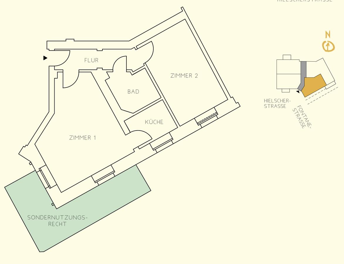 Floor plan unit 04   Hielscher Straße