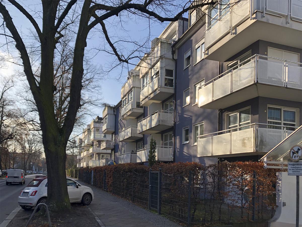 Straße   Parkstraße