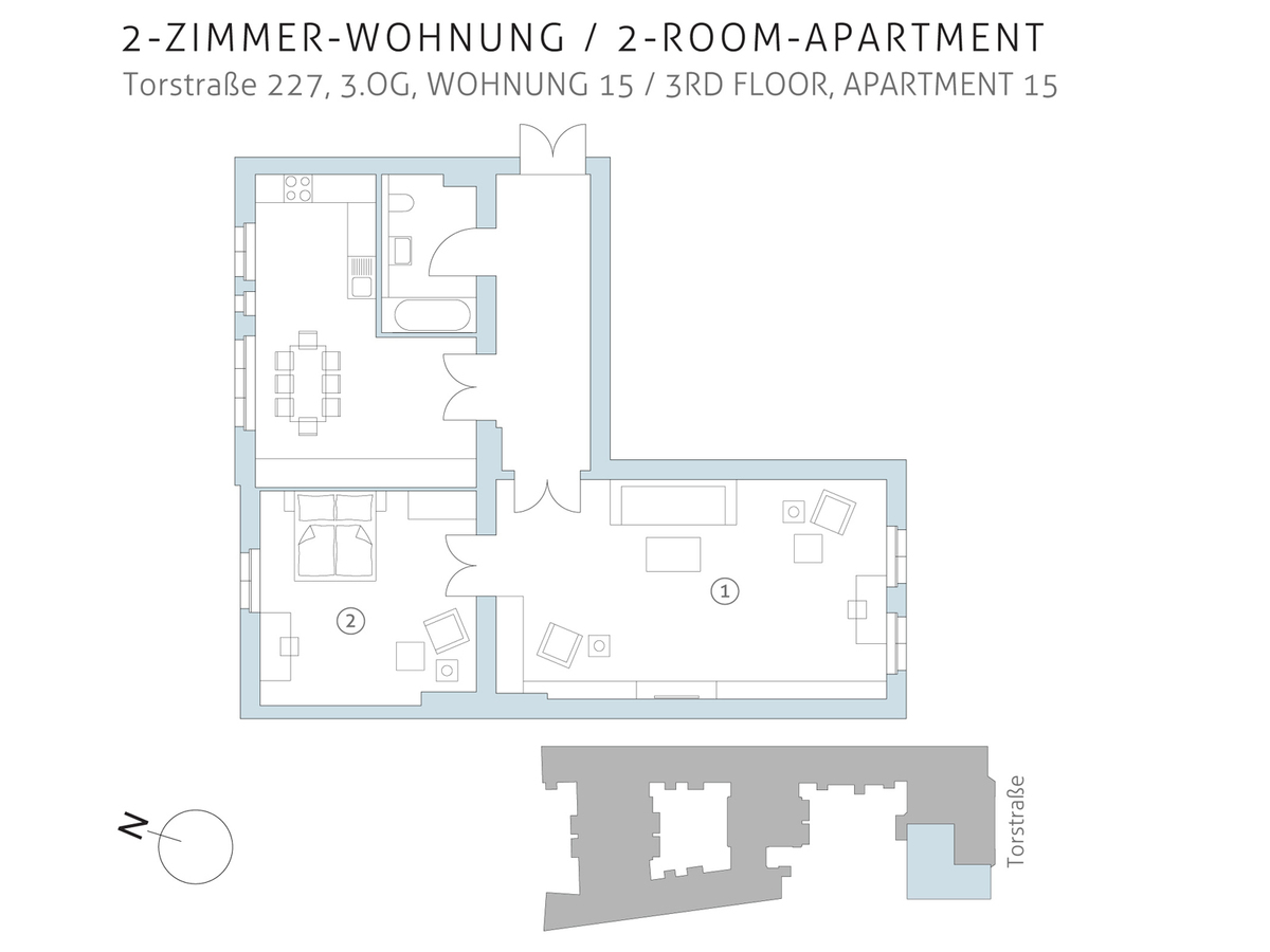 Floor plan unit 15   Torstraße