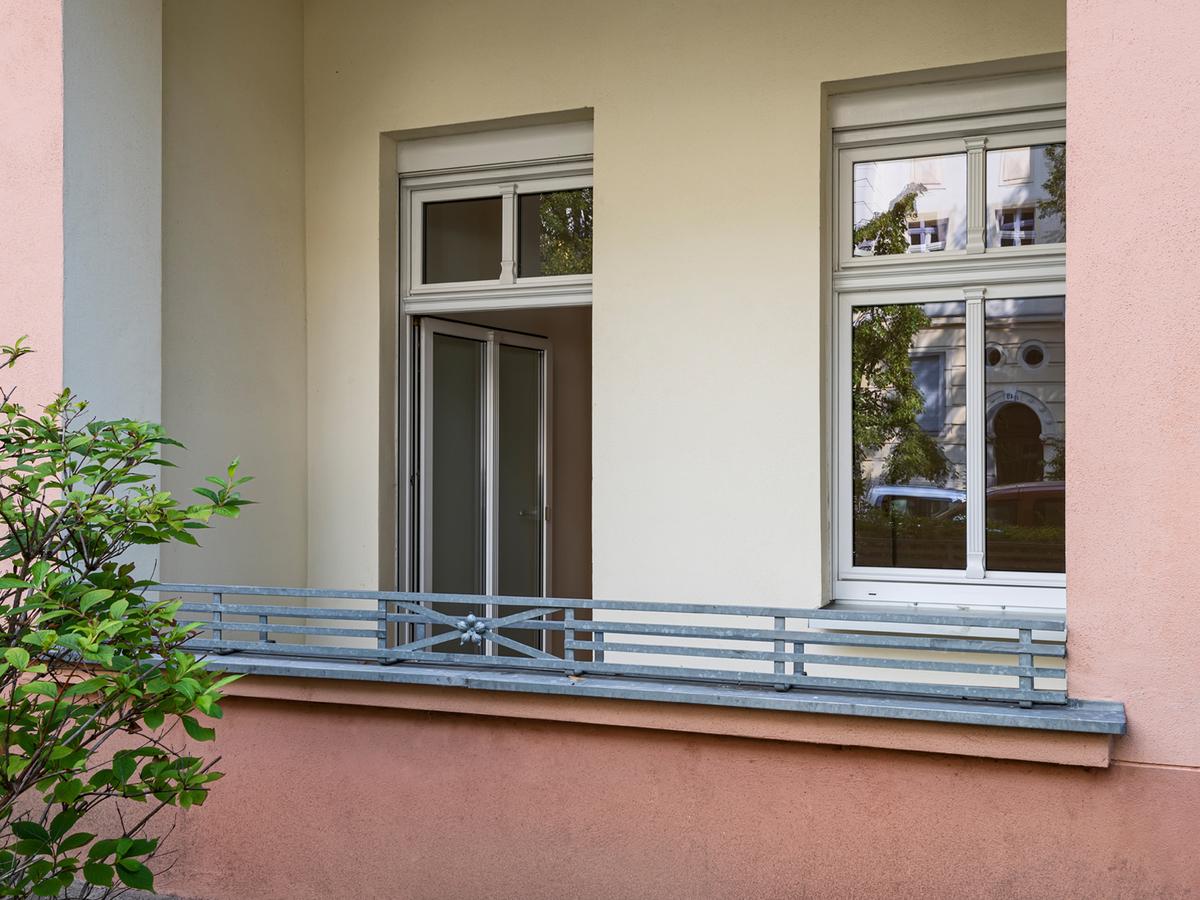 Balkonansicht | Binzstraße