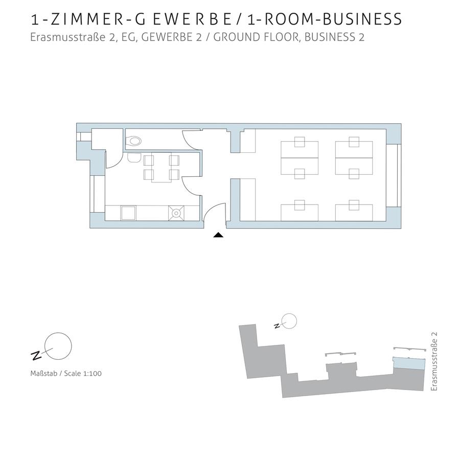Floorplan unit 02 | Erasmusstraße