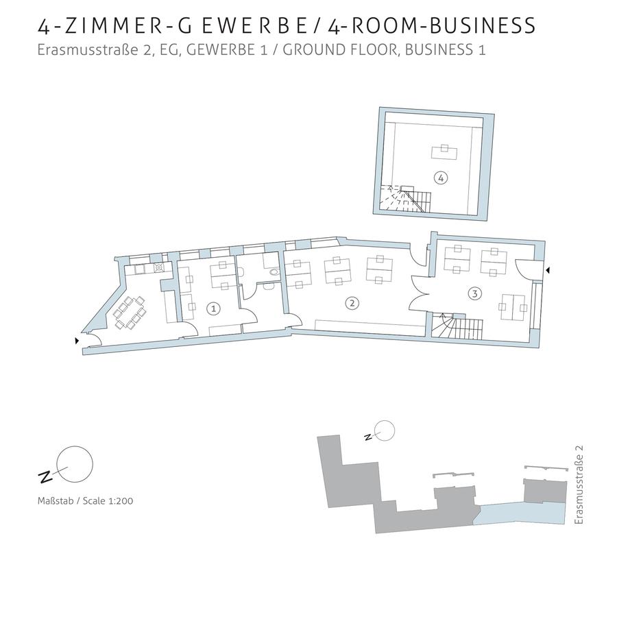 Floorplan unit 01 | Erasmusstraße
