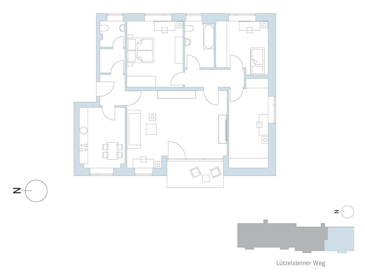 Floor plan unit 49 | Lützelsteiner Weg