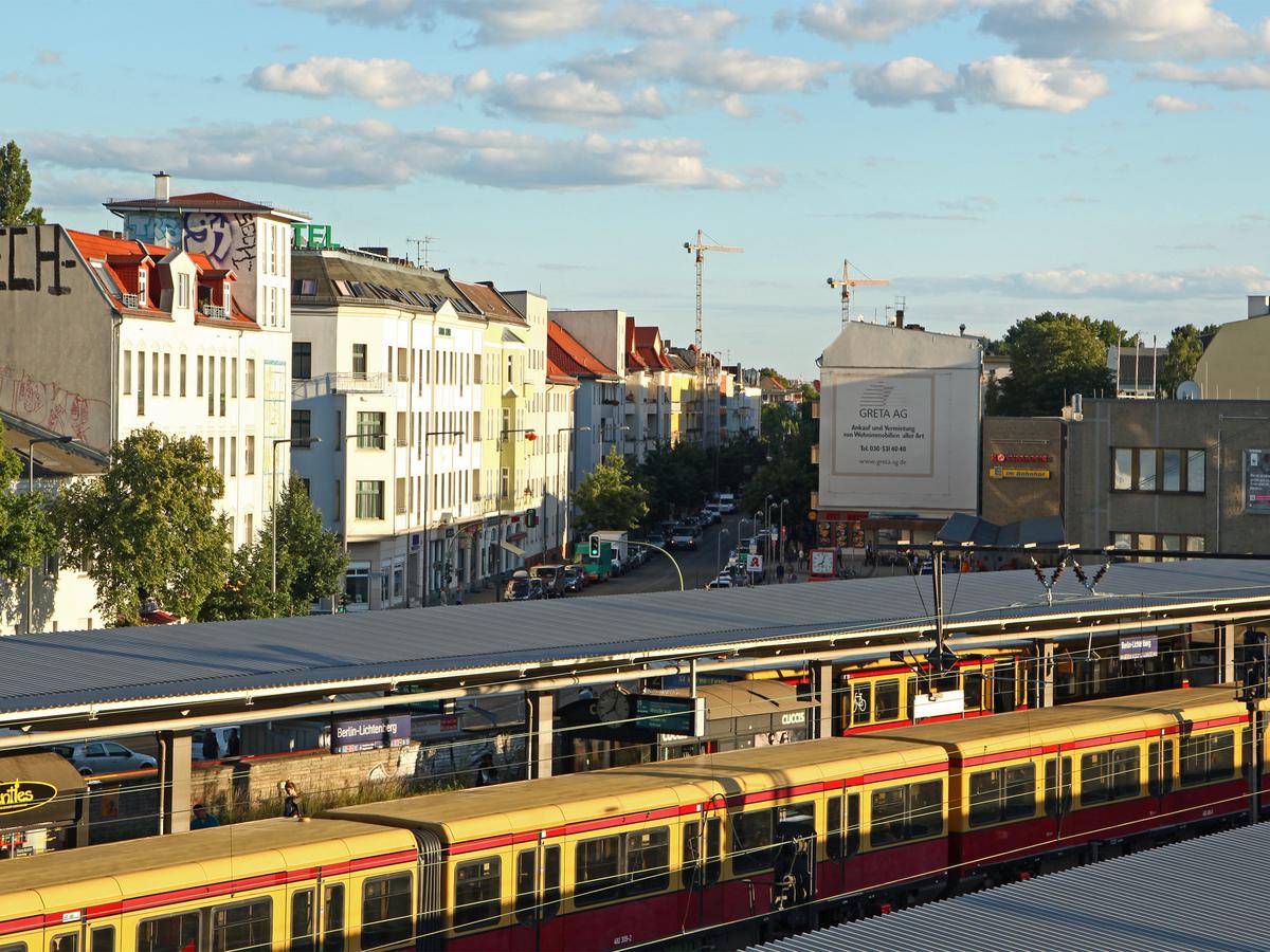 S-Bahnhof Lichtenberg | Zachertstraße