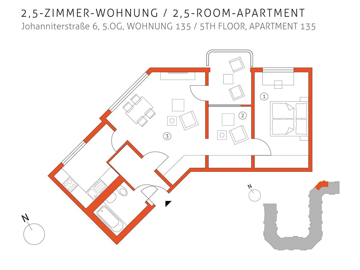 Grundriss 135 | Johanniterstraße