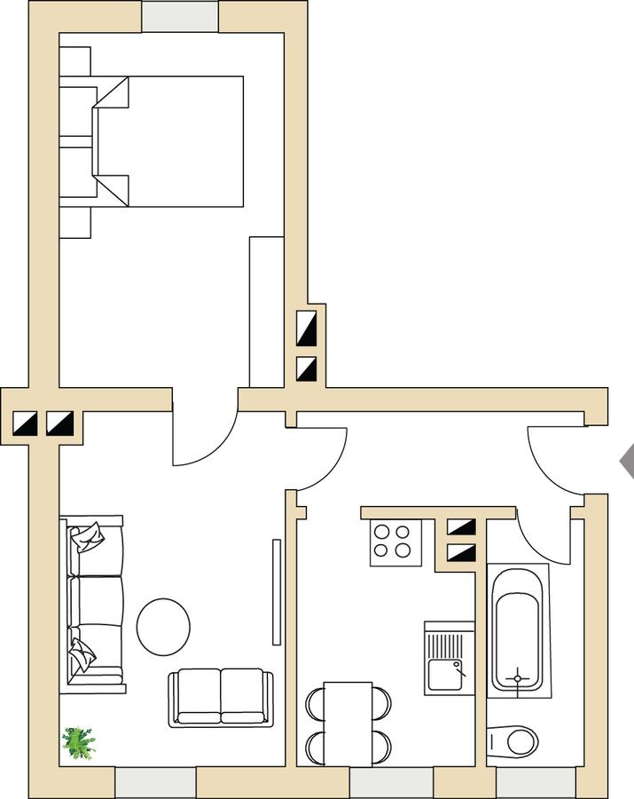 Grundriss 44 | Karl-Bartelmann-Straße
