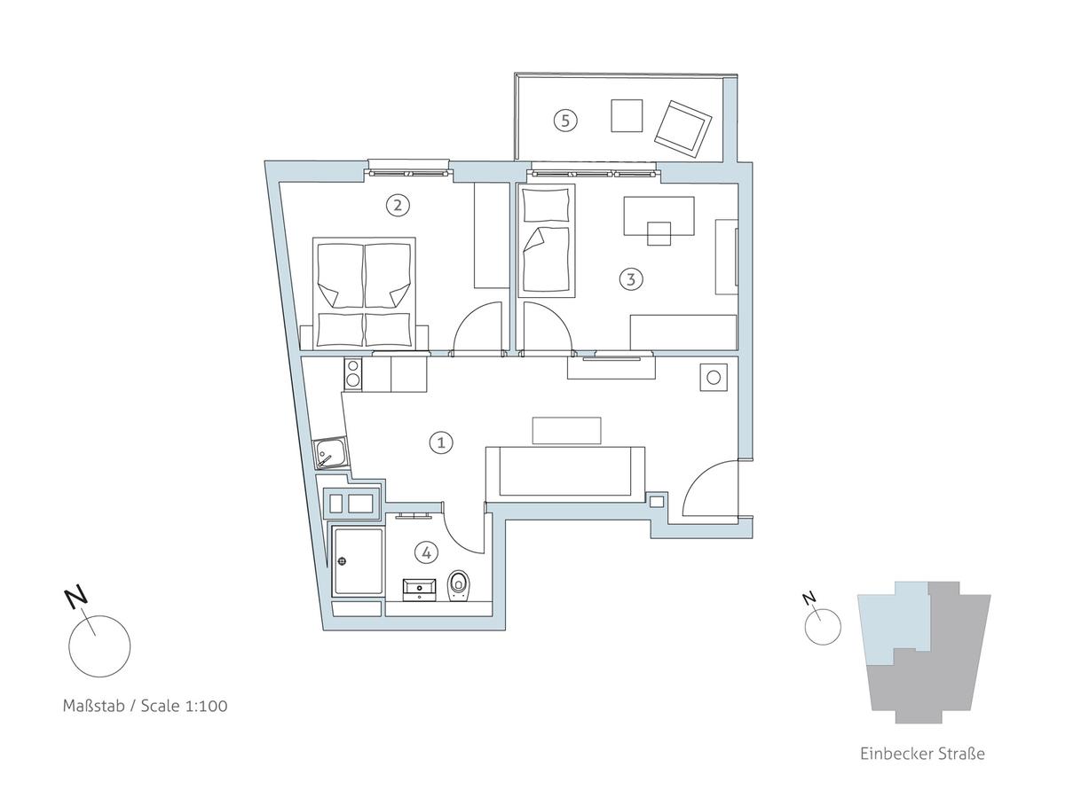 Grundriss WE 11 | Einbecker Straße
