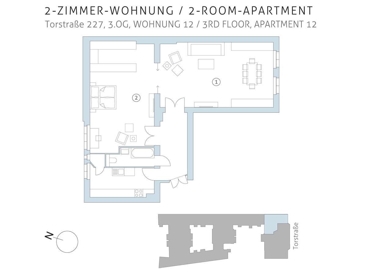 Floor plan unit 12 | Torstraße