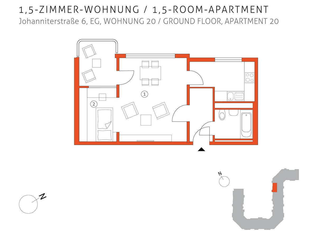 Grundriss 20 | Johanniterstraße