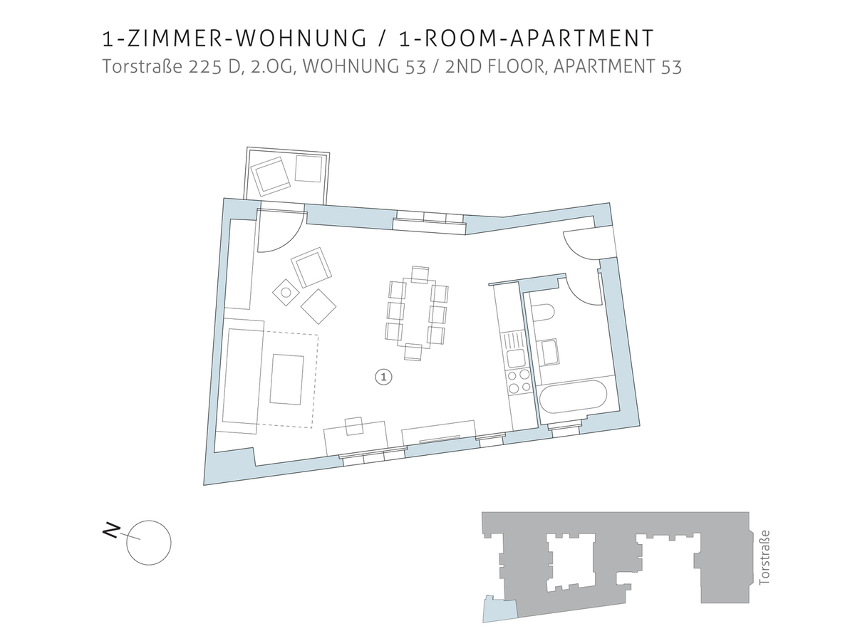 Floor plan unit 53 | Torstraße