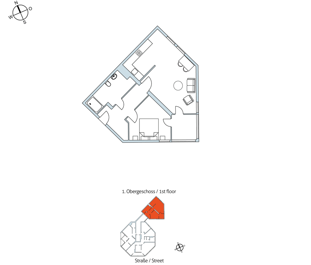 Floor plan unit 39 | Exerzierstraße