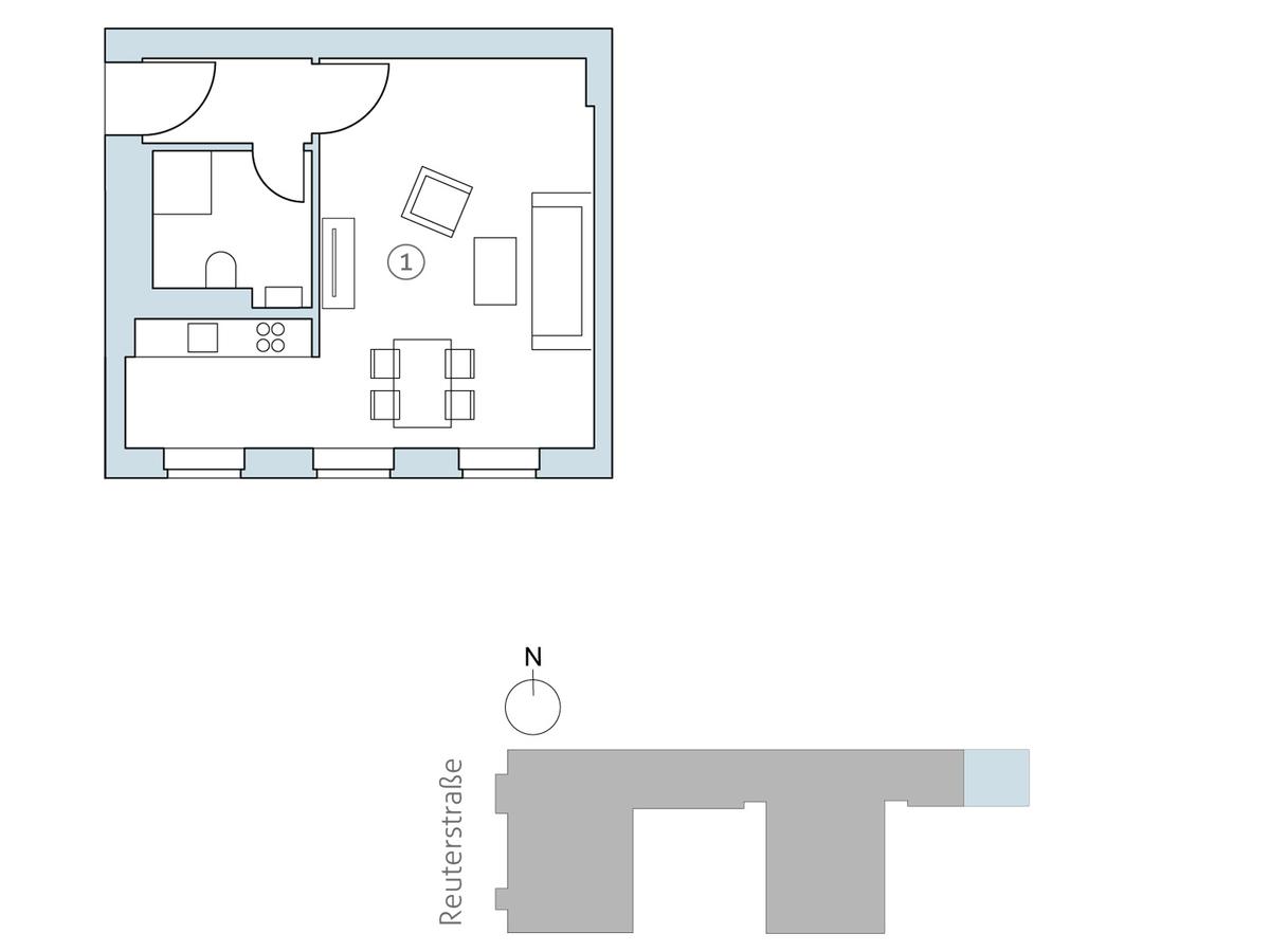 Floor plan unit 41 | Reuterstraße